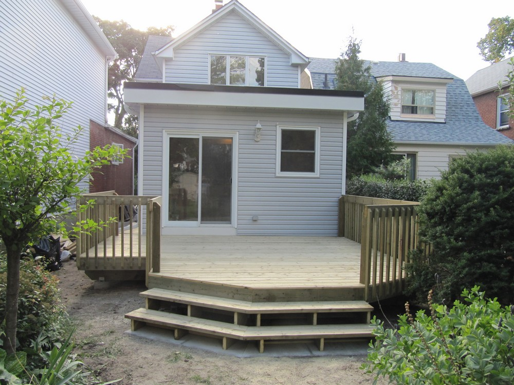 Gledhill Rear Addition Deck